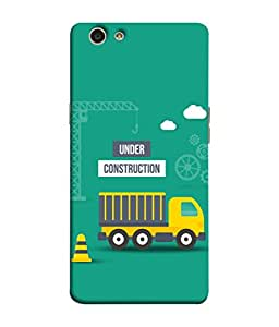 Fuson Designer Back Case Cover for Oppo F1s (Lorry Logo Highway Gaadi Passenger)