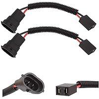 TOMALL H11 a H7 Adaptador de enchufe de arnés de cableado de arnés de cableado de LED 12 cm (5 pulgadas)