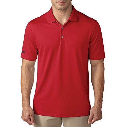 adidas Performance Herren Golf-Polo-Shirt, XL rot - Adidas Golf Shirt