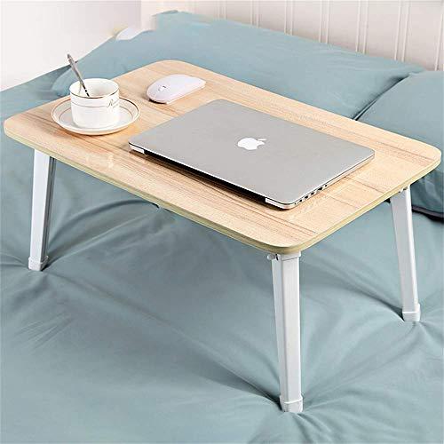 Bett Computer Schreibtisch Schreibtisch studentenwohnheim Notebook Tisch klapp Lernen Schreibtisch Schlafzimmer kleinen Tisch 60 * 40 Nordic ahorn (Farbe: ahorn) -