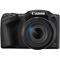 Canon Italia PowerShot SX430 IS Fotocamera Digitale Compatta, Nero
