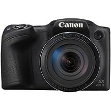 Canon PowerShot SX430 IS - Cámara compacta de 20 MP (pantalla de 3'', zoom óptico 45x, WiFi con NFC activo, Smart Auto, Canon Connect, Creative Filter, Intelligent IS) negro