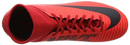 Nike Mercurial Victory VI DF SG, Chaussures de Football Homme Rouge (University Redblackbright Crimson)