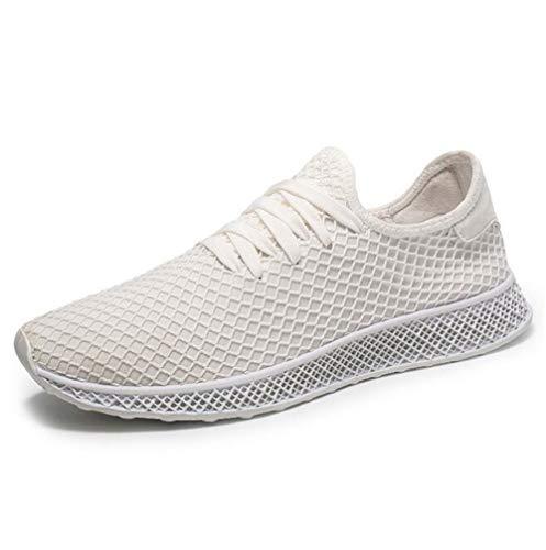 Womens Casual Deck-schuh (Herrenschuhe Vier Jahreszeiten Neue Modetrend Turnschuhe/athletische Mesh Breathable Wilde Trainer Schuhe/Casual Deck Schuhe (Farbe : EIN, Größe : 39))