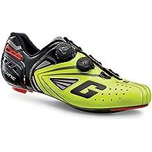 Gaerne Carbon G.Chrono Scarpe Road Ciclismo, Yellow Fluo - Giallo, 42