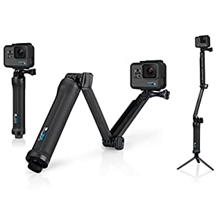 GoPro 3-Wege Halterung - Schwenkarm, Griff, Stativ, Rändelschraube (Offizielles GoPro-Zubehör) (B00KCX8H6E) | Amazon price tracker / tracking, Amazon price history charts, Amazon price watches, Amazon price drop alerts