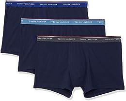 suchergebnis auf amazon de f�r silber unterw�sche herren  tommy hilfiger herren shorts 3er pack