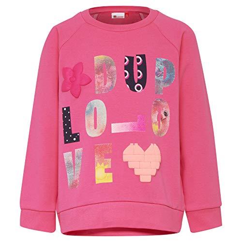 Lego Wear Baby-Mädchen Duplo Girl Sophia 322-SWEATSHIRT Sweatshirt, Rosa (Pink 459), Herstellergröße: 86