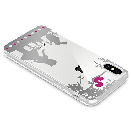 Jammylizard Cover Per Iphone X E Xs Custodia In Silicone