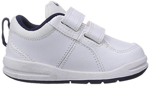 NikePico 4 (Tdv) - Scarpe Primi Passi Unisex per bambini Bianco (White/midnight Navy)