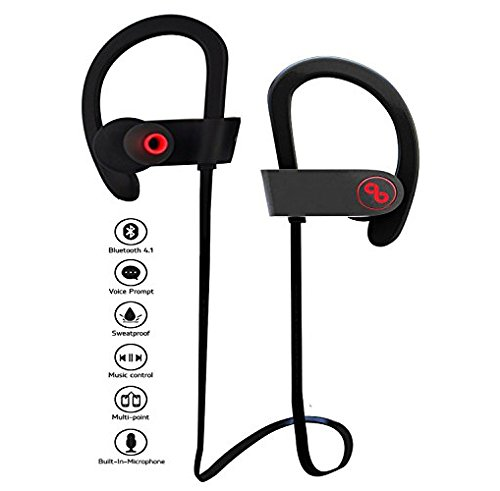 GIONEE E7 MINI Compatible Jiyanshi BRAND Professional Bluetooth 4.1 Wireless Stereo Sport Headphones Headset Running Jogger Hiking Exercise Sweatproof Hi-Fi Sound Hands-free Calling Supported Devices  available at amazon for Rs.899