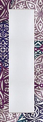 Pared-de-piso-de-espejo-con-facetas-de-25-mm-de-filo-decorativo-Modelo-de-marco-Impresin-Digital-Artland-Jule-estilo-marroqu--brombeerfarben-tamao-1404-X-504-x-16-cm