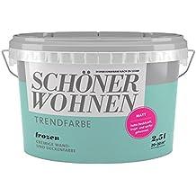 High Quality SCHÖNER WOHNEN FARBE Trendfarbe Frozen, Matt 2 L, Frozen