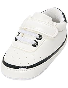Sharplace Unisex Baby Krippe Schuhe Sport Weiche Sohle Komfort Prewalker Schuhe aus Kunstleder