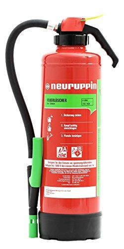 Preisvergleich Produktbild Feuerlöscher 6L Schaum Aufladelöscher Neuruppin S6SK eco + ANDRIS® ISO-Symbolschild + Prüfnachweis