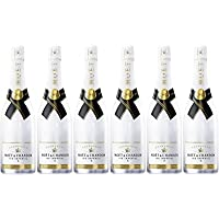 CAJA 6 BOTELLAS CHAMPAGNE MOET CHANDON ICE IMPERIAL