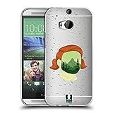 Head Case Designs Ruhiger Wald Landschaft Portrait Soft Gel Hülle für HTC One M8 / M8 Dual SIM