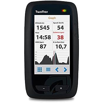 TwoNav Velo Mountain (Gris) - GPS Full Connect para Ciclismo de ...