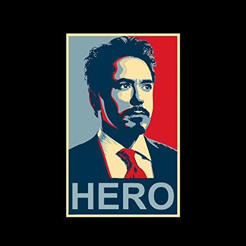 Tony Stark Iron Man Hero Shepard Fairey Style Men's Vest Black