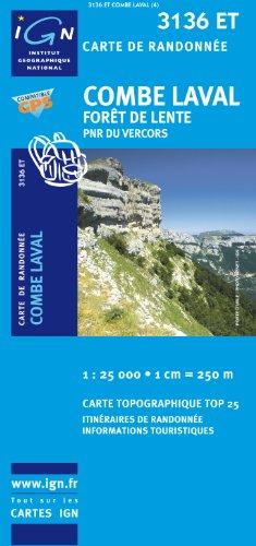 Combe Laval/Foret De Lente/PNR Du Vercors GPS: IGN.3136ET