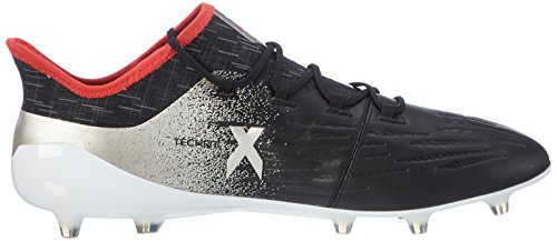 adidas X 17.1 Fg W, Scarpe da Calcio Donna Nero (Core Black/platin Metallic/core Red)