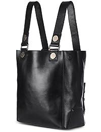 Saint G Womens Black Leather Womens Hand Bag