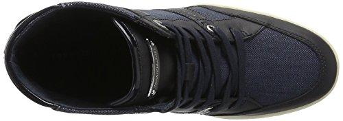 Tommy Hilfiger Damen S1285ebille Low 2c3 High-Top Blau (Midnight 403)