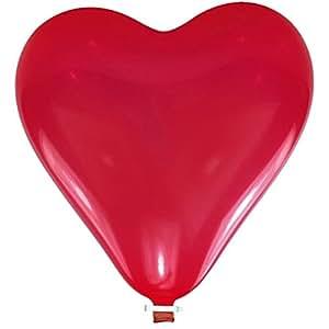 """Ballon de badruche XXL """"Coeur rouge"""" 170 cm"""