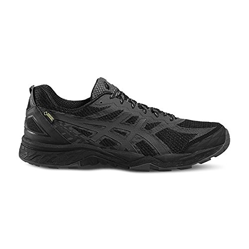 Asics Fujitrabuco 5 G Tx, Chaussures de Running Homme Noir (Black/Dark Steel/Silver)