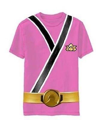 Power Rangers SAMURAI Ranger PINK Uniform Monster Toddler T-shirt (Toddler Large (Uniform Ranger Power)