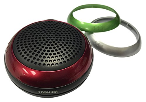 Toshiba TY-WSP21 IPX-4 Water Resistant Portable Wireless Bluetooth Speaker