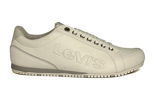Levi's , Baskets pour homme Blanc