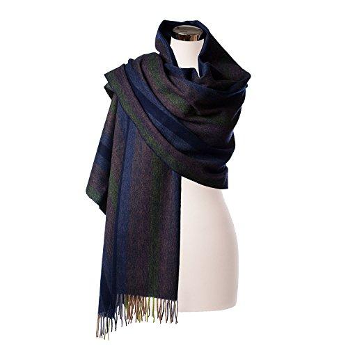 edinburgh-100-lambswool-scottish-tartan-multicolor-stole-navy-lime-graded-stripe-one-size