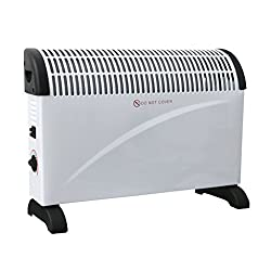 Oypla Electrical 2 KW Convector Heater - Wall Mounted Or Free Standing