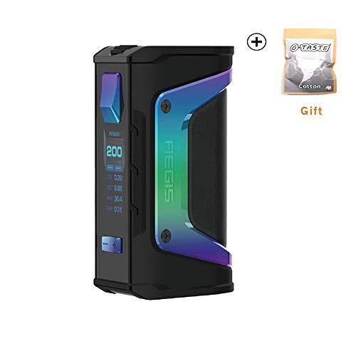 GeekVape Aegis Legende 200W TC Box MOD Neue AS Chipsatz Power von Dual 18650 Batterien e CIGS keine Batterie - kein Nikotin, keine E-Flüssigkeit (Rainbow trimmen)