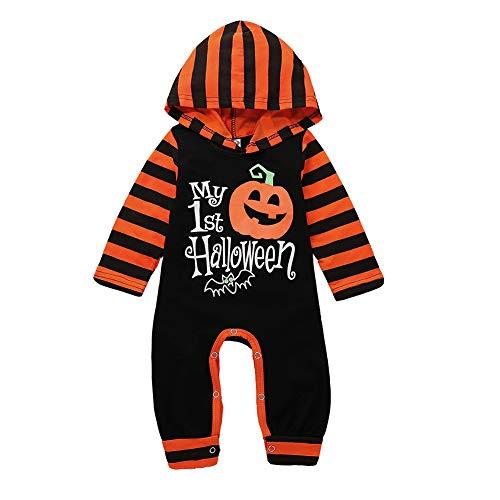 Baby Jumpsuit, Baby Halloween Kostüm/Cosplay Kostüm/Langarm-Kapuzen-Set - Holiday Show, Geburtstagsfeier, Halloween (0-2 Jahre Alt)