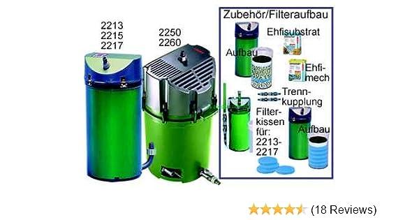 Turbo EHEIM Classic 600 Aquarium External Canister Filter: Amazon.in XO16