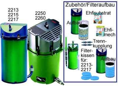Eheim 2217 Classic - Filtro para acuario