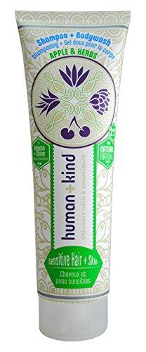 human + kind Shampoo Plus Bodywash Sensitive, 1er Pack (1 x 200 ml)