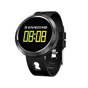 Sportuhren Rund Herren, Armband sport fitness Activity Tracker Armband Wasserdicht IP68, Bluetooth Smartwatch mit Blutdruck/Pulsoxymeter und Pulsmesser für Handy, x9vo