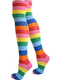 8c97af9aea6ae Suchergebnis auf Amazon.de für: bunte - Halterlose Strümpfe / Socken ...