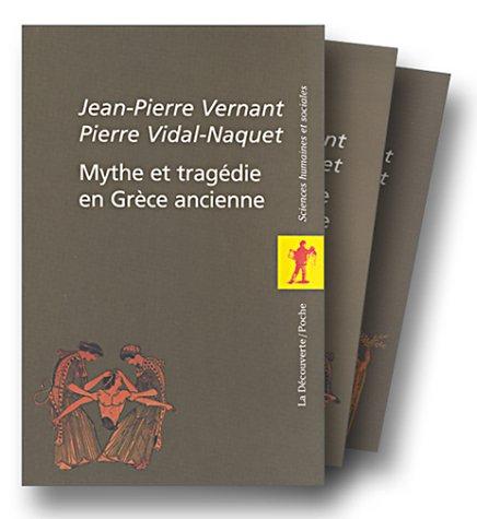 Mythe et tragédie en Grèce ancienne, coffret 2 volumes