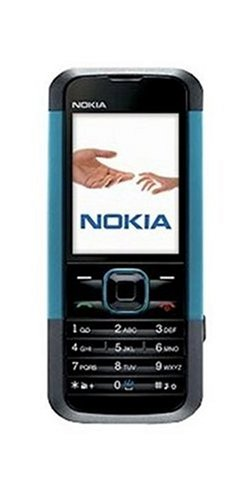 Nokia 5000 neon blue (Dualband, 1,3 MP, Radio, MP3-Player, Bluetooth) Handy