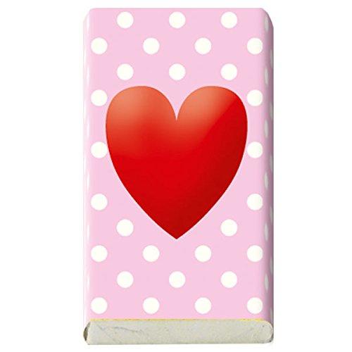 Geschenk FLAMINGO Geldgeschenk 23er Tütchen Mini Schokolade 3g STEINBECK Vollmilch Schokolade Tafel süß Mitgebsel Mädchen Happy Birthday pink