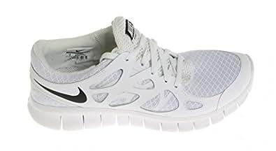 Nike  Nike Free Run 2 Nsw, Sneakers Basses homme - - White/Black-White, 38.5 EU
