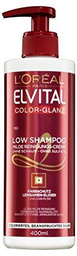 L'ORÉAL PARiS Shampoo Color Glanz Low Poo, 6er Pack (6 x 400 g)