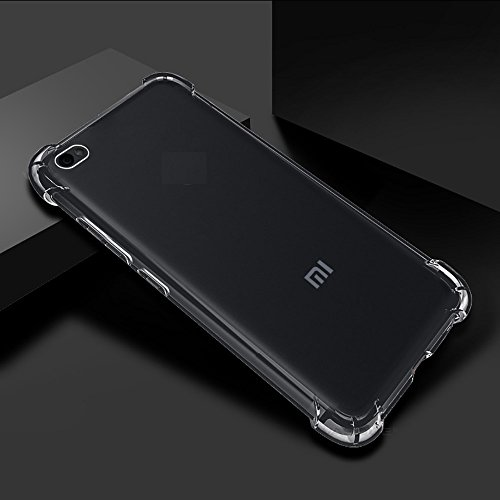 PROTEXZ™Transparent Silicon Back Cover Case for Xiaomi Mi Y1 Lite Mi Y1 Lite / Redmi Y1 Lite / Mi Redmi Y1 Lite / Xiaomi Redmi Y1 Lite / MiY1 Lite / RedmiY1 Lite / Xiaomi Mi Y1 Lite Y One Lite with bumper corner and anti shock technology (transparent)