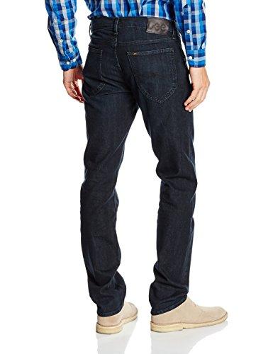 Lee Herren Straight Jeans Daren Zip Fly Blau (Raven Blue EC)