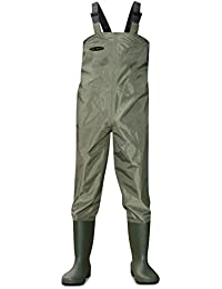 Dirt Boot® Nylon Chest Waders 100% Waterproof Fly Coarse Fishing Muck Wader Various Sizes