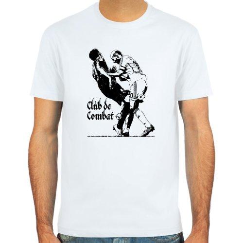 SpielRaum T-Shirt Zinedine Zidane vs. Marco Materazzi ::: Farbauswahl: skyblue, sand, weiß oder deepred ::: Größen: S-XXL ::: Fußball-Kult